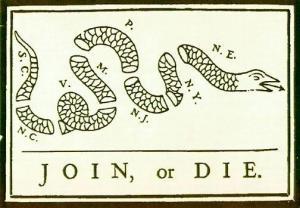 Join or Die - American Revolution