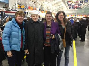 Kyle graduation from Navy Boot Camp Nov. 2014