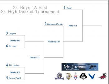 Sr. Boys District Tournament