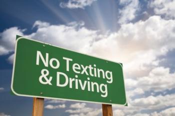 NO texting & Driving
