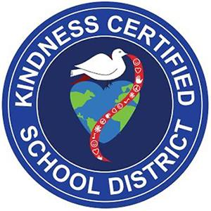 Kindness Certified School District seal image