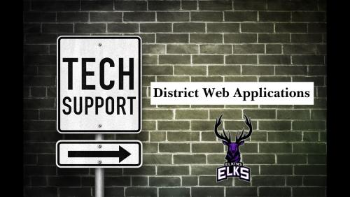 District Web Apps