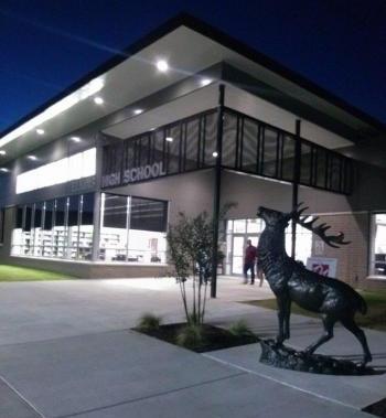 Front of High School