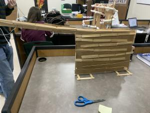 Student constructed marble mazes in Physics