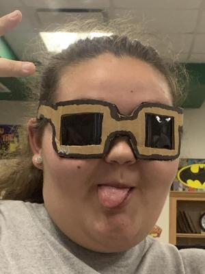Designing eye wear in STEM /Robotics
