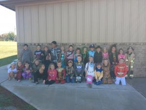 1st grade- Halloween 2013