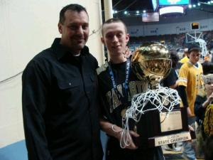 Darian my son and Grandson Hayden- 2011 State Tournament 2A Champs