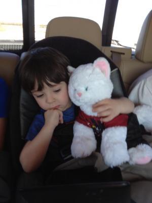 Aaden, my youngest grandson