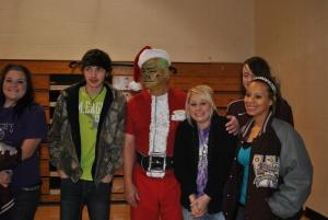 The computer class with the Grinch.