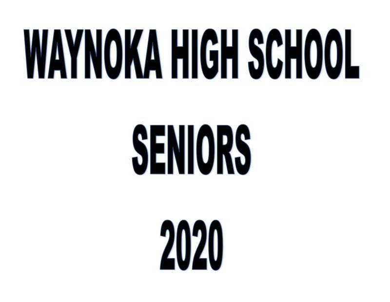 2020 WHS Senior Slide Show