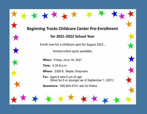Daycare Pre-Enrollment