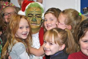 First grade girls loved the Grinch.