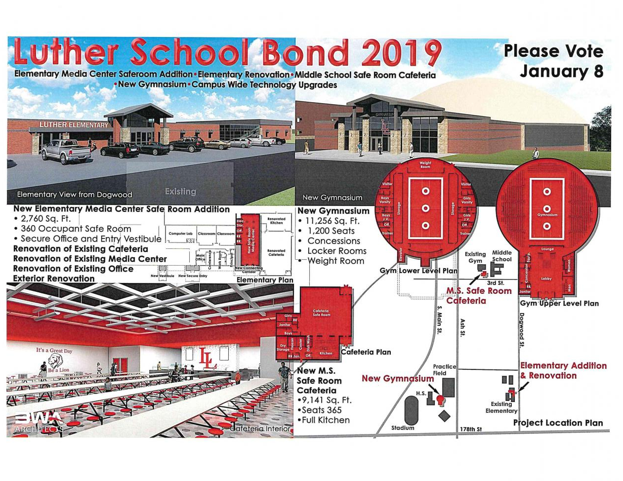 Luther School Bond 2019