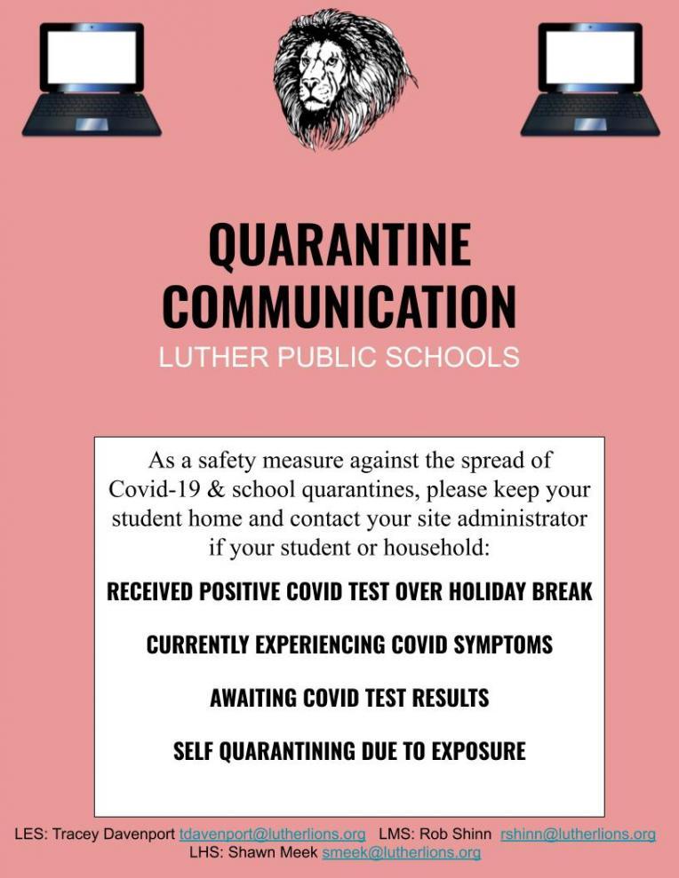 Quarantine Communication