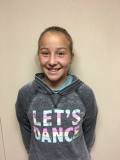 Avery Tipton - 5th Grade - Aug. Student of the Month