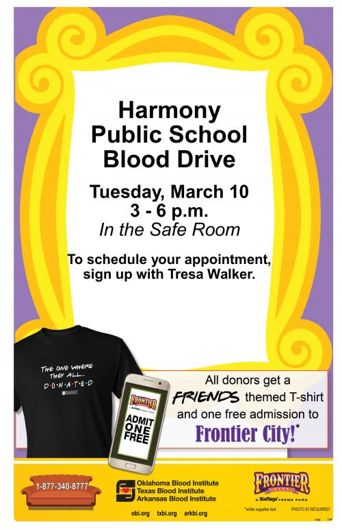 Blood Drive - March 10, 2020