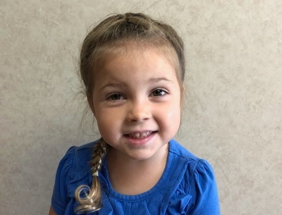 Logan Joy Sewell - PK3 - Aug. Student of the Month