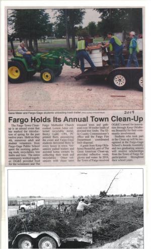 2019 Fargo Town Clean-up