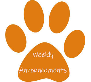 Click on the Tiger paw to access the A.C.C.E.S. weekly announcements