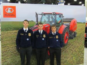Members at the National FFA Convention