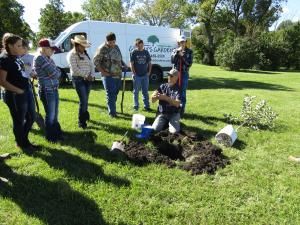 Doug Grimm presentation on how to plant fruit trees