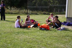 Post-race picnic @ Jackson Heights