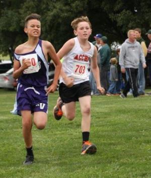 Colton Scholz 7th Grade Boys @ Holton