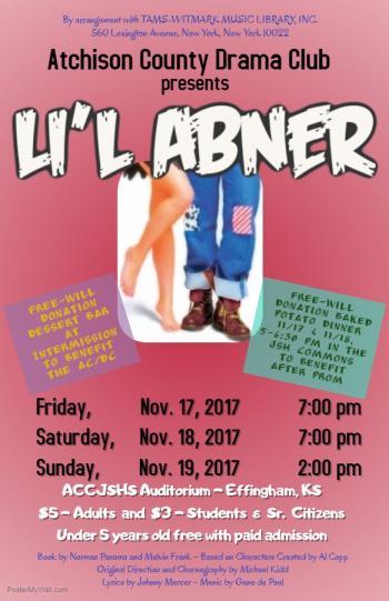 Lil Abner Flyer