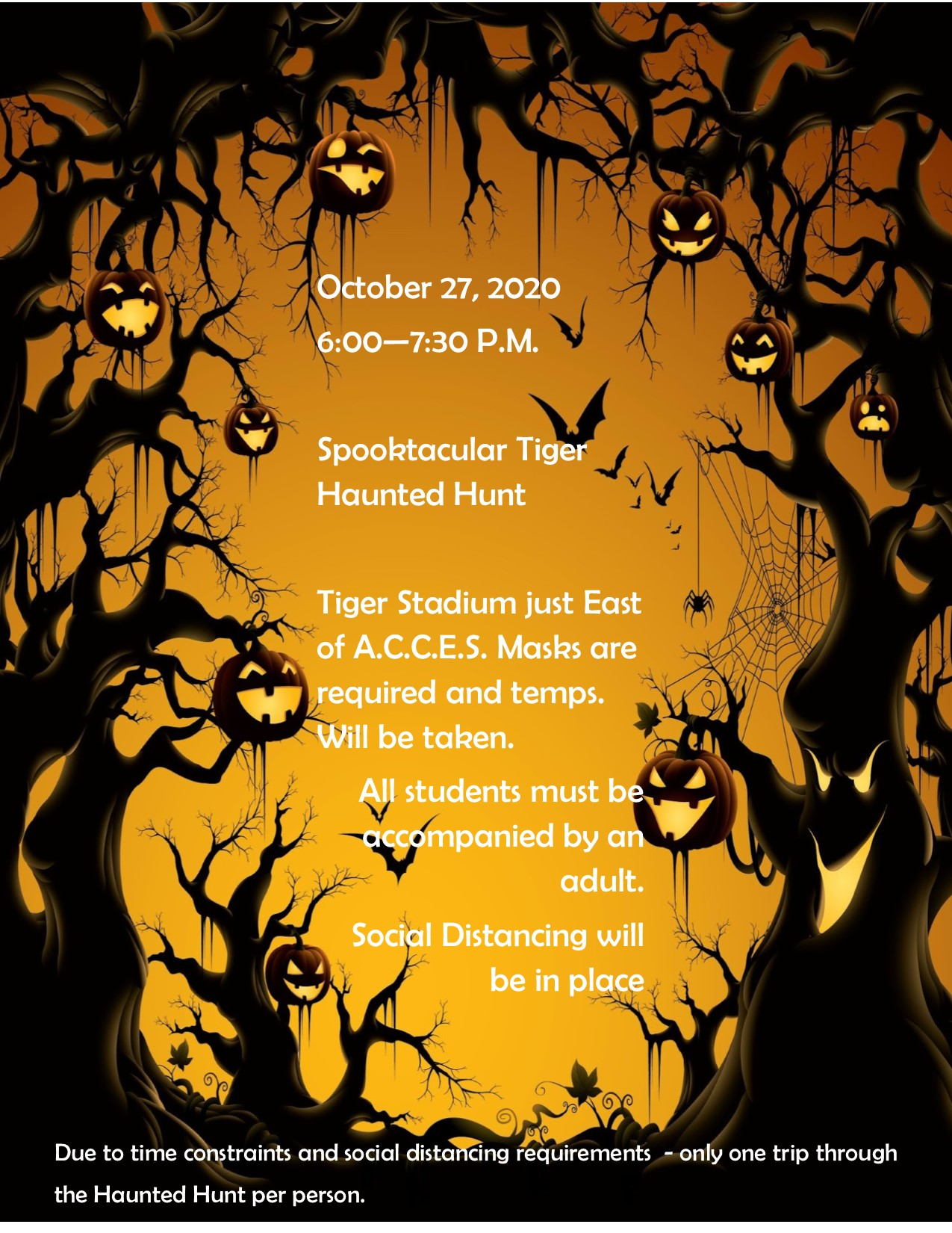 Join us for our Haunted Hunt!