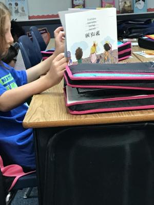 Enjoying our new books