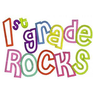 First Grade Rocks Icon