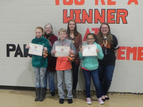 6th Grade Students of the Month