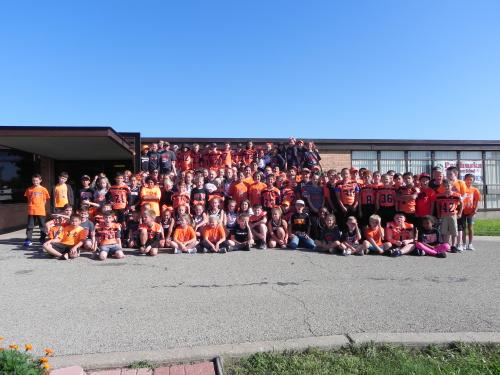 Huskie Pride Day at the Elementary