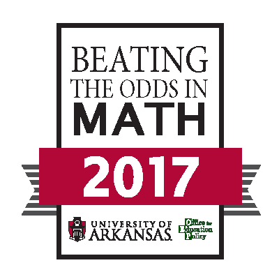 Beating the Odds Award in Math 2017