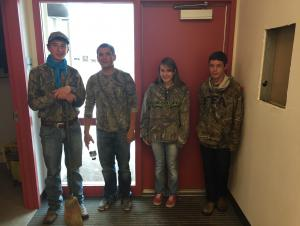 FFA Week Celebrations: Camo Day