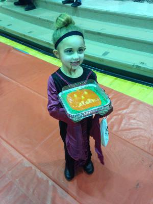 My beautiful niece Jenna Rose enjoying our school Halloween Carnival