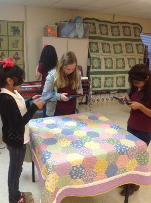 4th Grade Quilting PBL