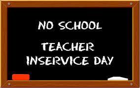 No School Teacher Inservice