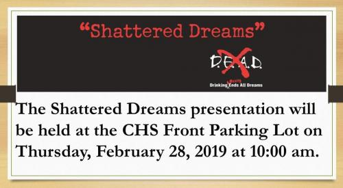Shattered Dreams Presentation