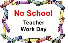NO School Teacher Workday