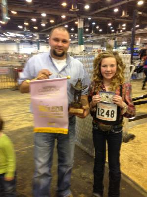 Reserve Calf Champion @ HLSR