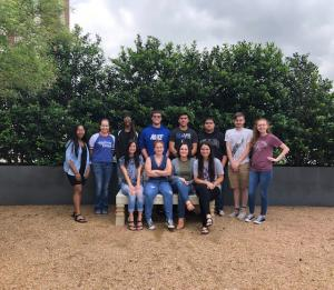 Spanish 3 2019 Spring Trip to Meadows Museum, SMU Campus