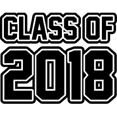 Image result for senior 2018 clip art