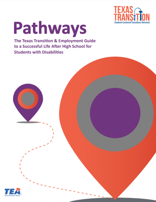 Transition and Employment Guide Cover page - English