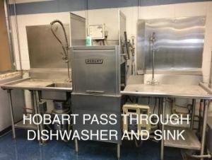 Pass Through Dishwasher / Sink