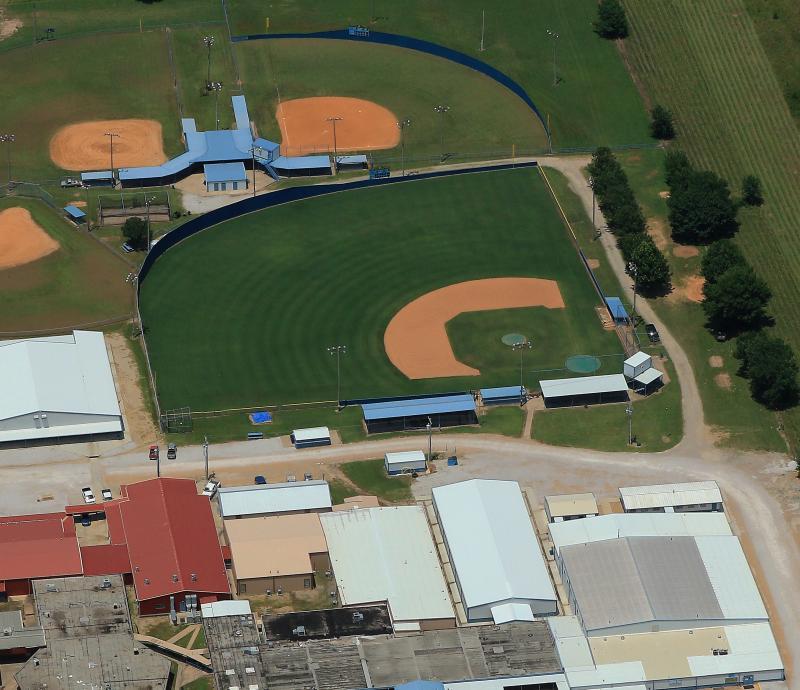 Landscape View facing Oktaha High School