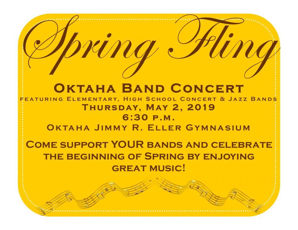 Spring Band Concert information
