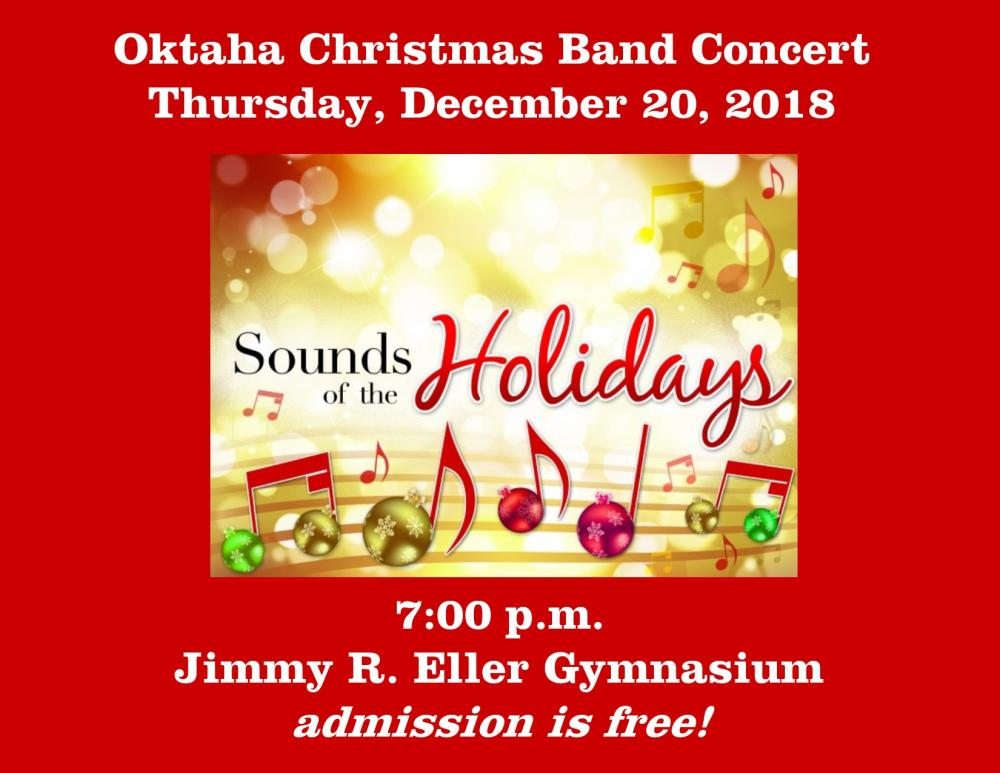 Sounds of the Holidays band concert