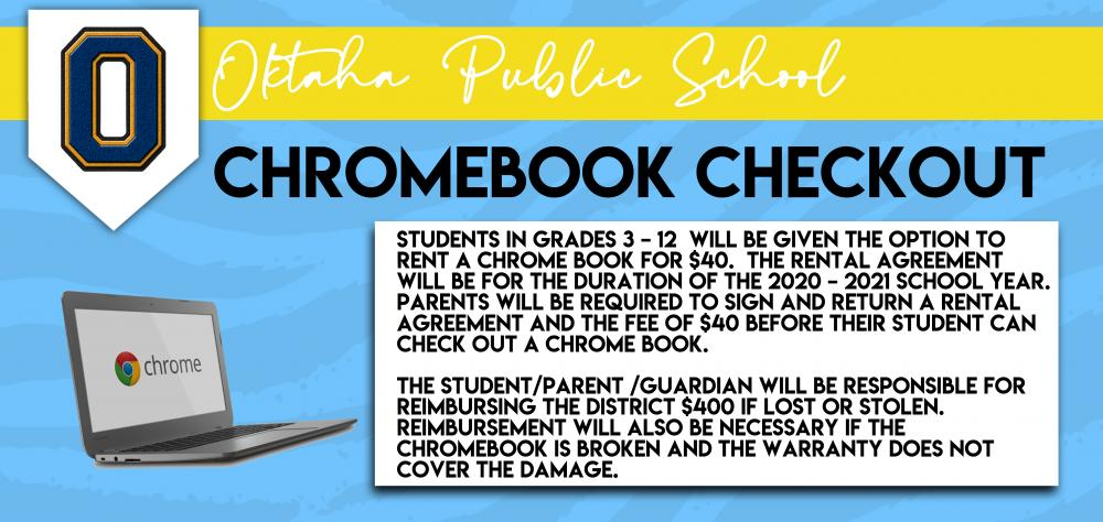 Chrome book check out