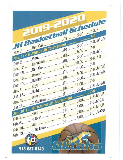 jh schedule
